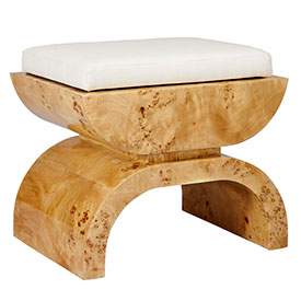 The Biggs Bench by Worlds Away offered by Delicous Designs Home of Hingham, Mass.